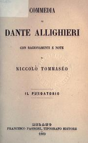 Cover of: Commedia by Dante Alighieri