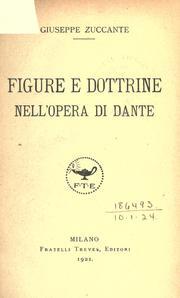 Figure e dottrine nell'opera di Dante PDF