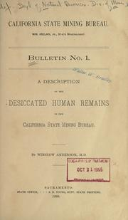 A description of the desiccated human remains in the California State mining bureau PDF