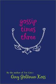 Gossip Times Three PDF