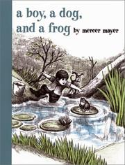 A Boy, a Dog, and a Frog by Mercer Mayer