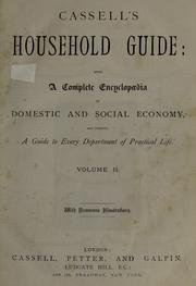 Cover of: Cassell's household guide by