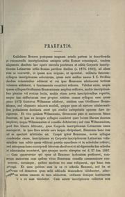 Inscriptiones latinae selectae by Hermann Dessau