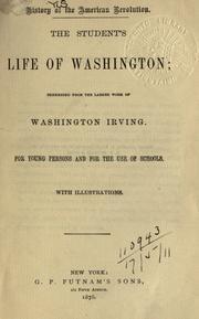 The student's life of Washington PDF