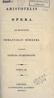 Opera, ex recensione Immanuelis Bekkeri PDF