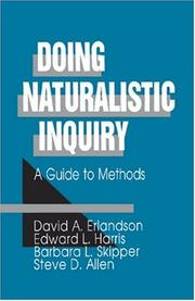 Doing Naturalistic Inquiry