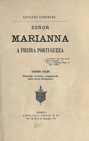 Soror Marianna, a freira portugueza.