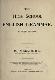 The high school English grammar PDF