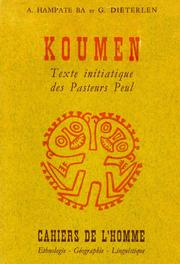 Koumen by Amadou Hampat B