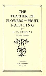 The teacher of flowers and fruit painting PDF