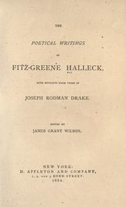 The poetical writings of Fitz-Greene Halleck with extracts from those of Joseph Rodman Drake PDF