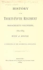 History of the Thirty-Fifth Regiment Massachusetts Volunteers, 1862-1865 PDF