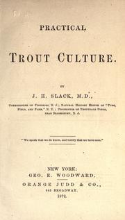 Practical trout culture PDF