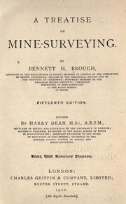A treatise on mine-surveying by Bennett H. Brough