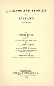 Legends and stories of Ireland PDF