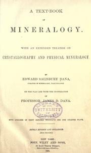 A text-book of mineralogy by Edward Salisbury Dana