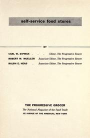 Self-service food stores PDF