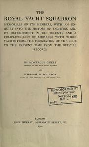 The Royal Yacht Squadron PDF