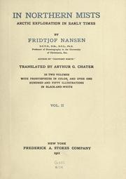 Nord i tkeheimen by Fridtjof Nansen