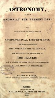 Astronomy, as it is known at the present day PDF