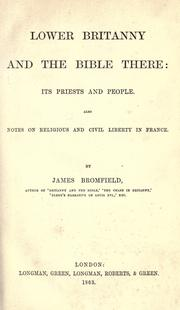 Lower Britanny and the Bible there PDF