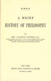 A brief history of philosophy PDF