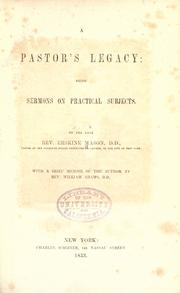 A pastor's legacy PDF
