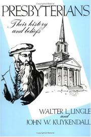 Presbyterians by Walter Lee Lingle