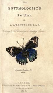 The entomologist's text book by John Obadiah Westwood