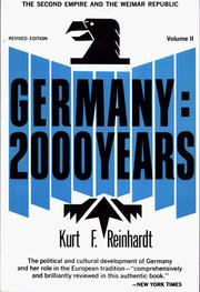 Germany by Kurt F. Reinhardt