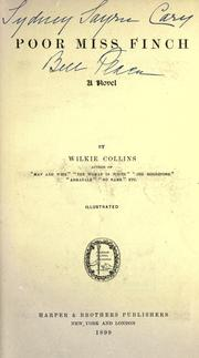 Cover of: Poor Miss Finch by Wilkie Collins