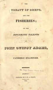 The treaty of Ghent, and the fisheries by