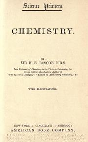 Chemistry by Henry E. Roscoe