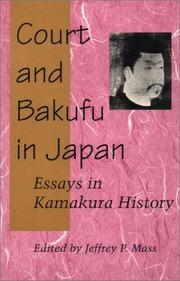 Court and Bakufu in Japan PDF
