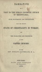 Narrative of a visit to the Syrian [Jacobite] Church of Mesopo tamia by Southgate, Horatio