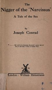 The nigger of the Narcissus by Joseph Conrad