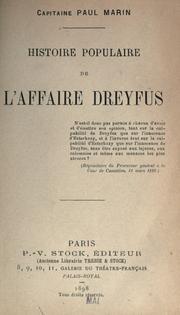 Histoire populaire de l'affaire Dreyfus PDF