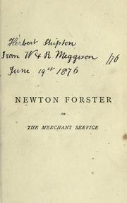 Cover of: Newton Forster by Frederick Marryat