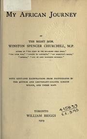 My African journey by Winston S. Churchill