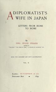 A diplomatist's wife in Japan by Fraser, Hugh Mrs.