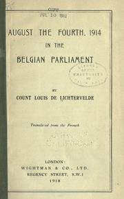 August the fourth, 1914 PDF
