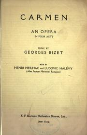 Carmen by Georges Bizet