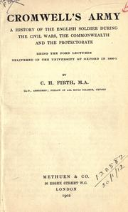 Cromwell&#39;s army by Firth, C. H.