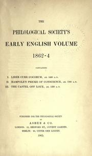 On early English pronunciation by Alexander John Ellis