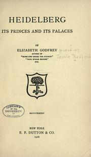 Heidelberg by Godfrey, Elizabeth.