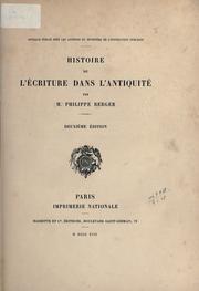 Histoire de lécriture dans lantiquité.