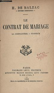 contrat de mariage.
