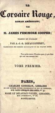 Cover of: Le corsaire rouge by James Fenimore Cooper