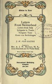 Letters from Switzerland PDF