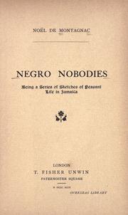Negro nobodies PDF